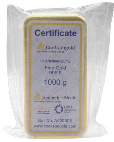 1KG- 1000 GRAM FINE GOLD BAR