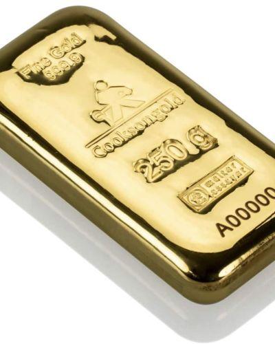 250g – (1/4 Kilo) GRAM FINE GOLD BAR